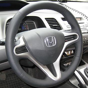 Как подобрать накладку (оплётку) на руль Honda Civic 8 2006-2011 годов выпуска.