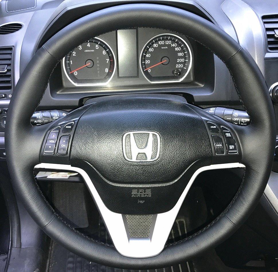 Старт продаж кожаной накладки на руль Honda CR-V III (2007-2012)